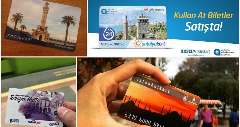 تركيا تتجه لتوحيد بطاقة المواصلات في كافة مدن تركيا